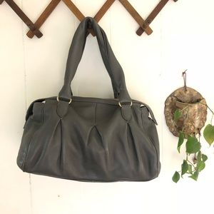 Cole Haan • Grey Leather Hand Bag